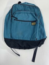 Vintage Eddie Bauer Backpack Jansport Style Green 90's Great Condition Rare $39.99