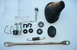 1966-70 Charger Gtx 4-speed Clutch Linkage Rod Frame Crank Fork Boot Kit 159.70