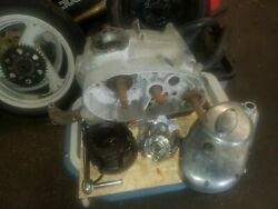 Ducati 250 Widecase Engine Motor Bottom End Crank Trans Clutch Cover Ahrma