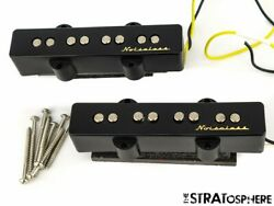 Fender Deluxe Vintage Noiseless Jazz Bass Pickups Pickup Set Of 2 Electric Bass