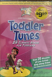 Toddler Tunes New Dvd Cedarmont Kids 25 Classic Songs For Kids