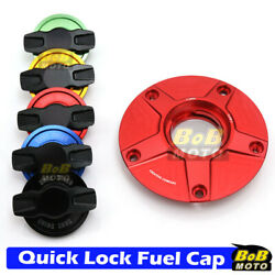 Red Fcr Quick Lock Fuel Cap For Kawasaki Z900rs Cafandeacute 18-19