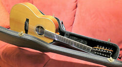 2003 Larrivee L-03-12bw Acoustic Guitar 12-string With Built-in Pickup Ohsc