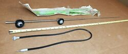 Vintage Nors Cowl Mount Radio Antenna 30's 40's 50's Car And Pickup Truck Us Made