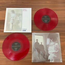 Red Flag Naive Art 2lp Red Vinyl 30th Anniversary Deluxe Edition 300 Synth Pop