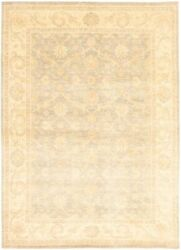 Vintage Hand-knotted Carpet 8'10 X 12'4 Traditional Oriental Wool Area Rug