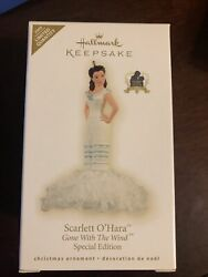 Hallmark Ornament Scarlett Oand039hara Gone With The Wind Special Limited Ed 2009