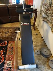 Ironmaster Super Bench -- Adjustable Weight Training Utility Bench