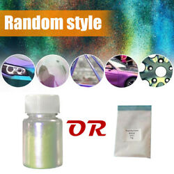 10g Chameleon Color Changing Pearl Powder For Auto bicycle Car Paint Pigment .