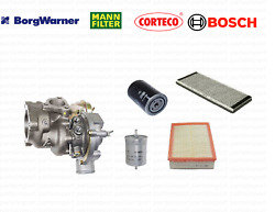Turbocharger + Air + Cabin + Engine + Fuel Filters For Vw Passat 1998 - 2005