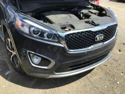 Front Bumper Two Piece Bumper With Fog Lamps Fits 16-18 Sorento 4016525