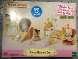 Calico Critters Baby Nursery Furniture Set New In Stock