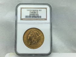 1907 20 Liberty Gold Double Eagle Coin Ms-63 By Ngc