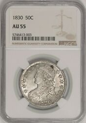 1830 Capped Bust Half Dollar O-112 R4+ Ngc Au55 Rare In This Grade Bym8