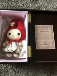 My Melody Plush Toy Doll 300 Limited 2000 Sanrio Collectible Original F/s Japan