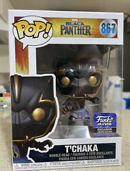 Funko Pop Marvel Black Panther 867 Tand039chaka Funko Hollywood Exclusive Ships Now