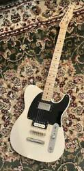 Rs Guitarworks Telecaster Slab Workhorse White Relic Hard Case Available Guitar