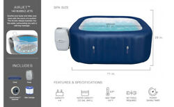 Bestway 60022e Air Jet 6 Person Inflatable Hot Tub Spa W/ Pump | Spa Pool Heater