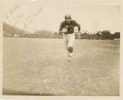 Frank Sinkwich- Rare Sepia Signed Photograph- Psa Heisman Trophy In 1942