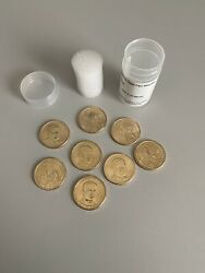 2014 Pandd Presidential Dollar 8 Coin Set Bu Uncirculated Mint State 1