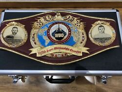 Authentic Wbo Unified Super Middleweight Champion -canelo-boxing Belt Duplicate