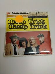 Rare View-master L33 Cheap Trick Band Rock And Roll Rare Sealed New