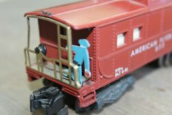 American Flyer Lines 1955-1957 977 Action Man Lighted Caboose Jb