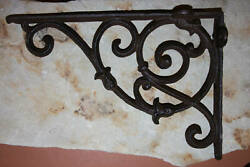 French Country Wall Shelves Shelf Brackets Corbels Large Size 10 1/2 B-08