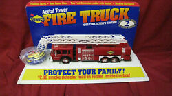 1995 Sunoco Fire Truck With Counter Top Display And 6 Matching Buttons