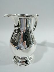 Water Pitcher - 3740 - Antique Colonial - American Sterling Silver