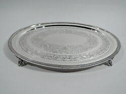 William Forbes / Ball Black Tray - Antique New York - American Coin Silver