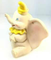 Dumbo Vintage Dell Squeaker Squeeze Toy Walt Disney Productions Rare Yellow
