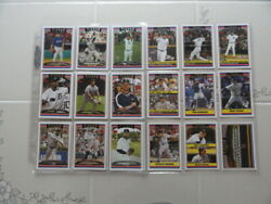 Topps Detroit Tigers - And03906 And03907 And03908 - Complete - Sets All Nm+ To Mt - See Desc.