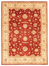 Hand-knotted Carpet 9'1 X 11'10 Traditional Vintage Wool Rug