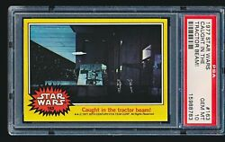 1977 Star Wars 'caught In The Tractor Beam' 163 Psa 10 - Tough Low Pop 1/8