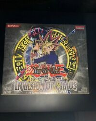 Yugioh 2004 Invasion Of Chaos Booster Box Sealed. Best Price Around