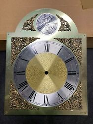 Vintage Tempus-fugit Style Grandfather Clock Dial