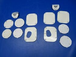 Cessna 170 Inspection Panels Lh And Rh Wings Lot Of 13 0721-886