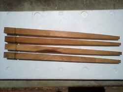 27 Tapered Unfinished Wood Legs Set Of Four