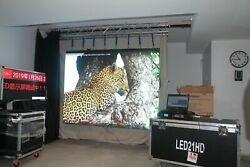 Die-casting Aluminum P2.6 Led Video Wall 15 Panels 8ft X 5ft New2021