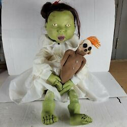 Vintage Zombie Baby Spirit Halloween Prop Decoration Haunted House Works Scary