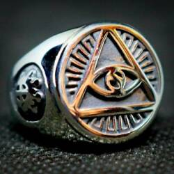 Haunted Ring White Magick Third Eye Opening Enhance Pineal Gland Occult Power