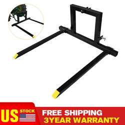 3 Point Hitch Pallet Fork Adjustable Pallet Fork Attachments Category 1 Tractors