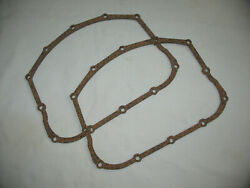 Pair Panhead Pan Cover Gaskets Rubber Impregated Cork 120 Thick By Sands Cycle
