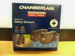 New Chamberlain 801cb-p Replacement Safety Sensors For Liftmaster Craftsman