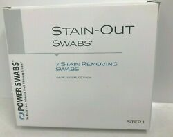 Power Swabs Stain Out Swabs 7 Stain Removing Swabs Step 1