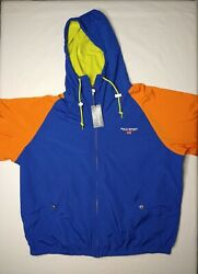 Polo Sport Windbreaker Rugby Royal Menand039s Size Large New With Tags
