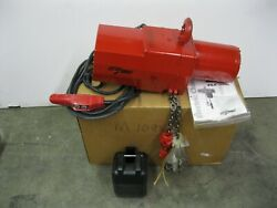 Coffing Little Mule Flc Series Chain Hoist 1/4 Ton Rated 1/2 Hp New Z12 2868