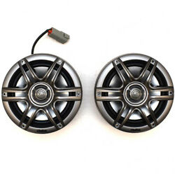 Clarion Boat Stereo Speaker System   2-way Bluetooth Usb 6.5 Inch Kit