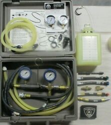 Miller Tool 8978 Gas And Diesel Fuel Pressure Decay Volume Tester Set With Update